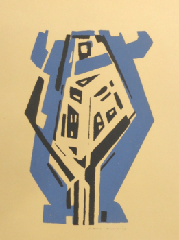 Karl Hartung, Abstrakte Komposition, Serigrafie
